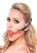 Fetish Fantasy Series Silicone Ball Gag Red