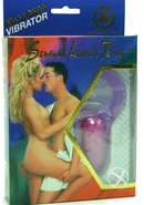Sensual Lovers Ring Jelly With Clitoral Stimulation Lavender